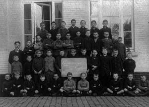 Klas van meester Frans Smeets - 1924
