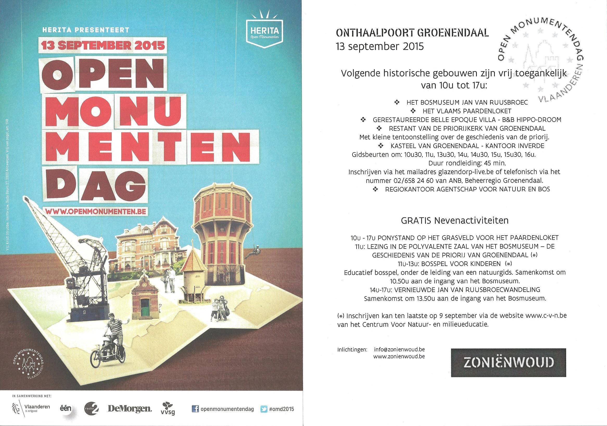OMD flyer met programma