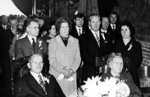 Diamanten huwelijk op Bakenbos in de jaren '60