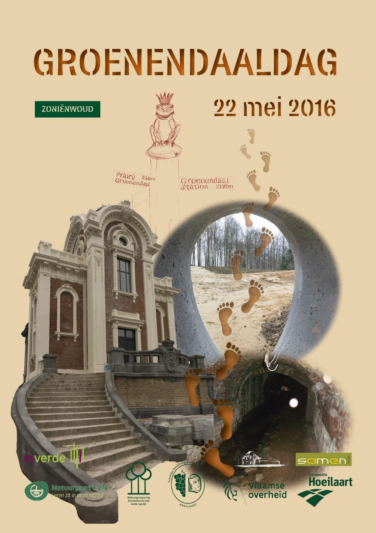 Affiche Groenendaaldag 22 mei 2016