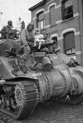 Kind op tank